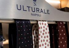 Cravatta Ulturale Napoli Uomo 3 Tre Pieghe 100% Seta Made in Italy IDEA REGALO