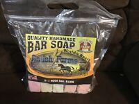 Amish Farms Quality Handmade World's Best Bar Soap 5 Huge 5 Oz. Bars