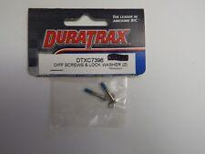 DURATRAX - DIFF SCREWS & LOCK WASHER (2) - Model # DTXC7396