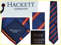 HACKETT  Cravatte Uomo 100% Seta  AL PREZZO DI SALDI HA11 T0G