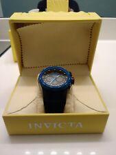 Invicta Chronograph W/R 100MT Rubber Wrist.