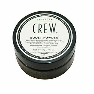 NEW!!! AMERICAN CREW BOOST POWDER 0.3 OZ TUB MATTE FINISH TEXTURE HAIR HOLD GRIP