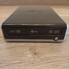 LG DVD und CD Brenner GSA-2164D-R extern USB 2.0 schwarz, kaum gebraucht