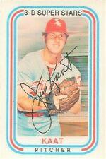 1976 Kellogg's Baseball 3-D Super Stars #25 Jim Kaat Chicago White Sox No Cracks