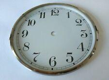 Chrome Clock Bezel and Glass 160mm Arabic Dial