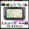 7''2 Din Android GPS Autoradio pour VW/Seat+Caméra BT Wifi iOS Lien Miroir EQ FM