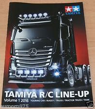 Tamiya 64402 R/C Line-Up volumen 1 2016 (inglés/RC), NUEVO