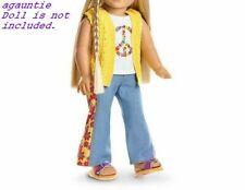 American Girl Julie BeForever Meet OUTFIT  Tank Top,Vest,Jeans,Underwear,Sandals