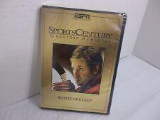 WAYNE GRETZKY SPORTS CENTURY GREATEST ATHLETES DVD! NEW!  EXTENDED INTERVIEWS!