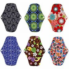 Charcoal Reusable Sanitary Towel Pads Bamboo Cloth Mama Menstrual CSP Pad / Bag