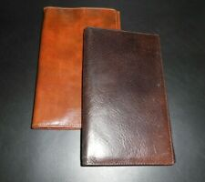 Genuine Leather Card Holder/Wallet/Note Case. *2 Colours* Made in England