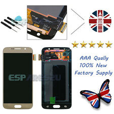 Gold For Samsung Galaxy S6 G920F LCD Display Digitizer Touch Screen Replacement