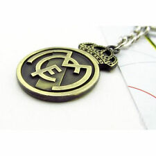 Football Club Logo Real Madrid Keychain  Souvenir Copper steel KeyRing