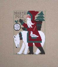 2017 Yearly Santa Polar Bear Prairie Schooler Cross Stitch Pattern