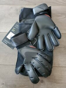 Nike Vapor Grip 3 Goalkeeper Gloves Black Size 10 CN5650-011