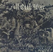 ALL OUT WAR - GIVE US EXTINCTION   CD NEU