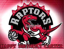 RAPTORS Edible CAKE Decoration Image Icing Topper FREE SHIPPING