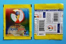 1 X Packet Panini World Cup 2002 sobre Pochette Bustina Zlatan Ibrahimović ?
