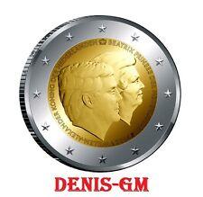 MONEDA CONMEMORATIVA DE 2 EUROS DE HOLANDA 2014 SIN CIRCULAR