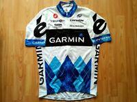 Garmin Cervélo Pro cycling team 2011 TDF Edition Full Zipp Jersey, Castelli L