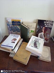 lot de livres à 3€ l'unité , dont Max Gallo , Roland Dorgelès etc ...voir liste