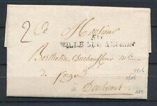 1806 Lettre Marque 50 VILLE SUR AUJEON Non révolut. HAUTE-MARNE(50) TB. P818