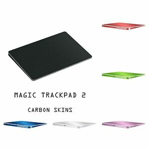 Apple MAGIC TRACKPAD 2 - Carbon 3D Skin Wrap Cover Decal - 9 Colors Available