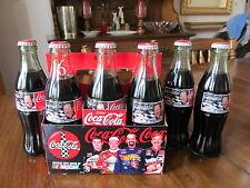 DALE EARNHARDT SR NASCAR #3 6 PACK COMMEMORATIVE COCA COLA BOTTLES IN CARTON