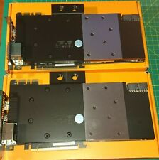 2 ASUS GTX 780Ti  Direct CU with EK Nickel + Acetyl water block and backplates