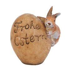 Figura decorativa Huevo De Pascuas Conejo Feliz Pascua clayre & eef