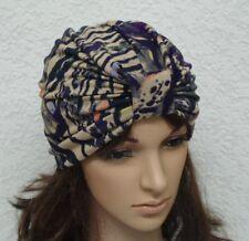 Fashion Turban, Women's Turban Hat, Full Head Covering, Viscose Jersey Turban