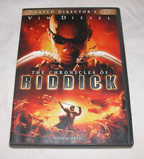Chronicles of Riddick DVD, 2004, Unrated Directors Cut Widescreen Free Ship USA