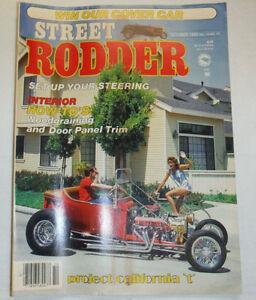 Street Rodder Magazine Interior How-To's October 1985 W/PM 010615R