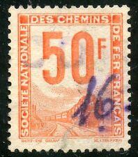 STAMP / TIMBRE DE FRANCE COLIS POSTAUX OBLITERE N° 15