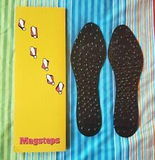 Nikken MagSteps Womens size 5 - 9 Magnetic Therapy Insoles Dress Casual NEW USA