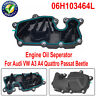 Engine Oil Seperator For Audi VW A3 A4 Quattro Passat Beetle 06H103464L Pretty