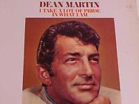 ROCK POP VOCAL MUSIC RECORD ALBUM ~DEAN MARTIN~ VINTAGE VINYL LP ORIGINAL 1974