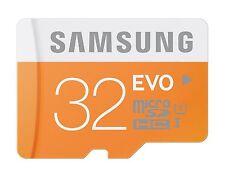 SAMSUNG MICRO SDHC EVO 32GB 48MB 32G 32 G GB MICRO SD UHS-1 C10 MEMORY CARD NEW