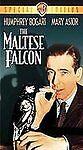 The Maltese Falcon Vhs Classic Movie Bogart