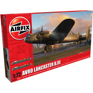 Airfix A08013A Avro Lancaster B.III British Military Bomber Model Kit Scale 1/72