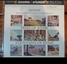 Classic Records LP 1rst Edition Chicago Symphony (Reiner) Pines of Rome lsc2436