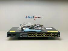Cisco ME-3400G-12CS-A • 12-Port ME3400 Gigabit Ethernet Switch ■FASTSHIPPING■