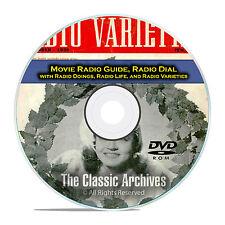 Movie Radio Guide, Radio Dial, Doings, 463 Old Time Radio Magazines PDF DVD E61