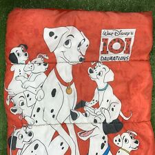 "Vintage 90's Disney 101 Dalmatians Sleeping Bag 30"" X 57"""