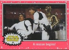 Star Wars JTTFA Neon Parallel Base Card #32 A rescue begins!