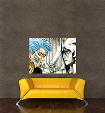 Poster Print Manga Anime Muñequito Grimmjow Vs ulgquiorra Bleach seb027
