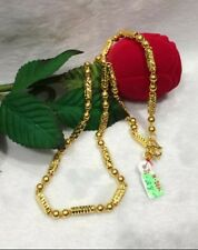"""Gold Authentic 24k gold necklace 20""""chain"""