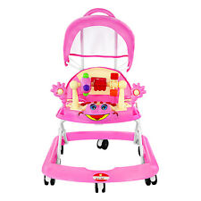Babyplus Baby Walker First Steps Push Along Bouncer Activity Music Play Toy Tray
