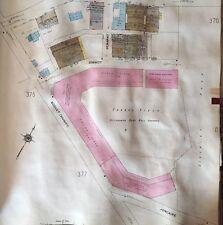 1925 SANBORN FORBES FIELD PITTSBURGH PIRATES PA STADIUM COPY ATLAS PLAT MAPS