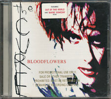 The Cure Bloodflowers RARE original promo issued CD w/ hype sticker '00